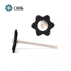 Miniature Brush-Hexagon Star Brush-Black Bristle