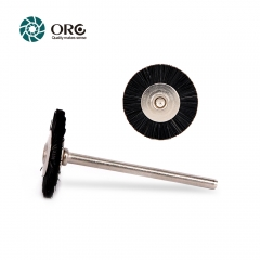Miniature Brush-Black Bristle