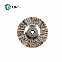 Unmounted Disc- Brown/White Mixed